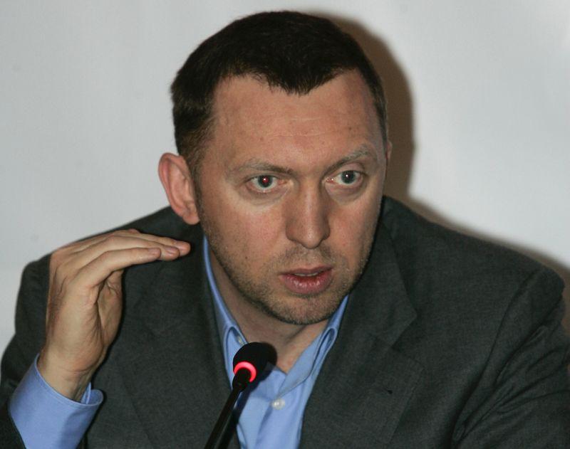 """""""Rusal"""" vadovas Olegas Deripaska yra tarp asmenų, kuriems pritaikytos naujausios JAV sankcijos.  Alexanderio Natruskino (""""Reuters"""" / """"Scanpix"""") nuotr."""