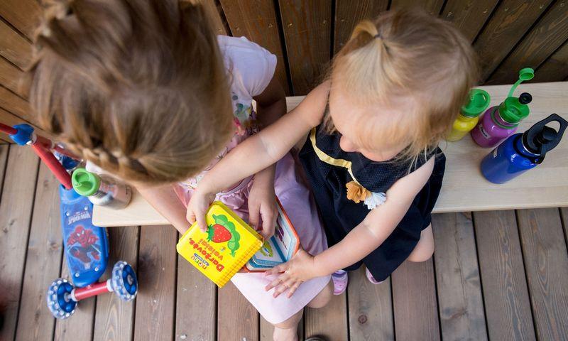 Mūsų vaikai mokosi tik iš mūsų. Juditos Grigelytės (VŽ) nuotr.