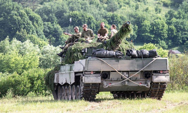 """Tarptautinė NATO pratybos """"Geležinis vilkas"""". Juditos Grigelytės (VŽ) nuotr."""