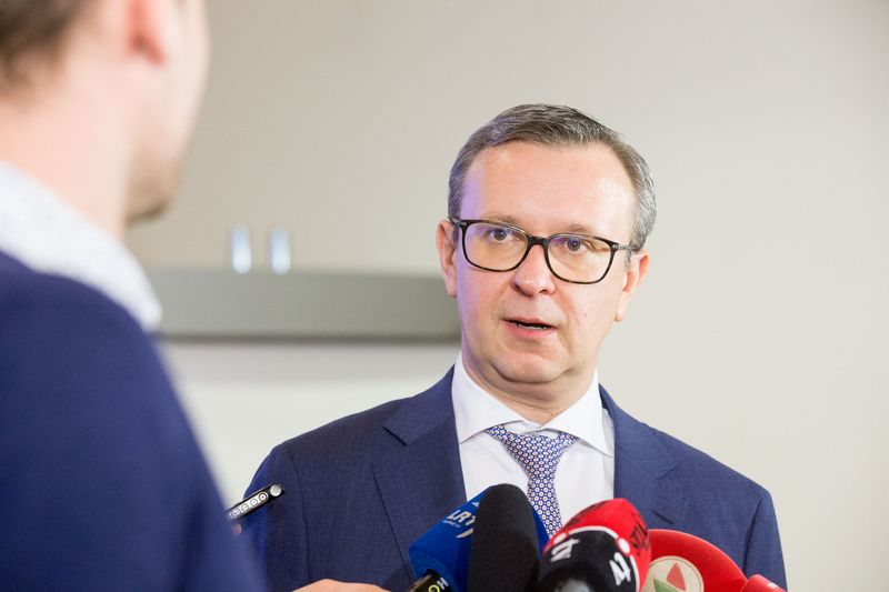 Mantas Zalatorius, Lietuvos bankų asociacijos prezidentas. Juditos Grigelyės (VŽ) nuotr.