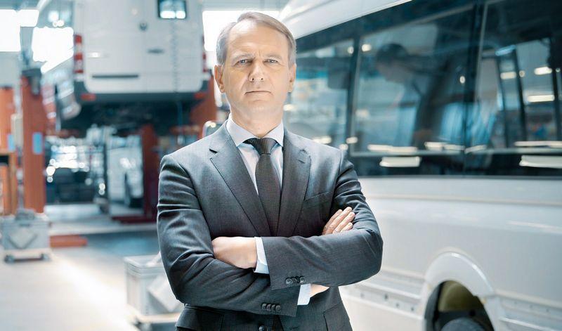 """,,ALTAS komercinis transportas"""" generalinis direktorius Edvardas Radzevičius."""