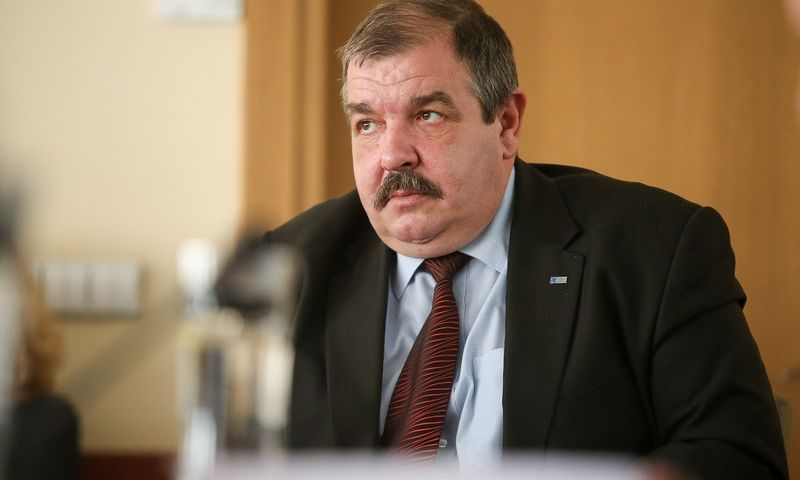 Artūras Černiauskas Trišalės tarybos posėdyje. Vladimiro Ivanovo (VŽ) nuotr.