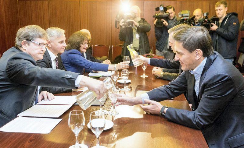 Konservatoriai bei Valstiečių ir žaliųjų sąjunga iš biudžeto gaus didžiausias dotacijas. Juditos Grigelytės (VŽ) nuotr.