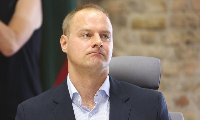 Virginijus Kanapinskas jau metus laikinai vadovauja Vyriausiajai tarnybinės etikos komisijai. Irmanto Gelūno (15min.lt) nuotr.