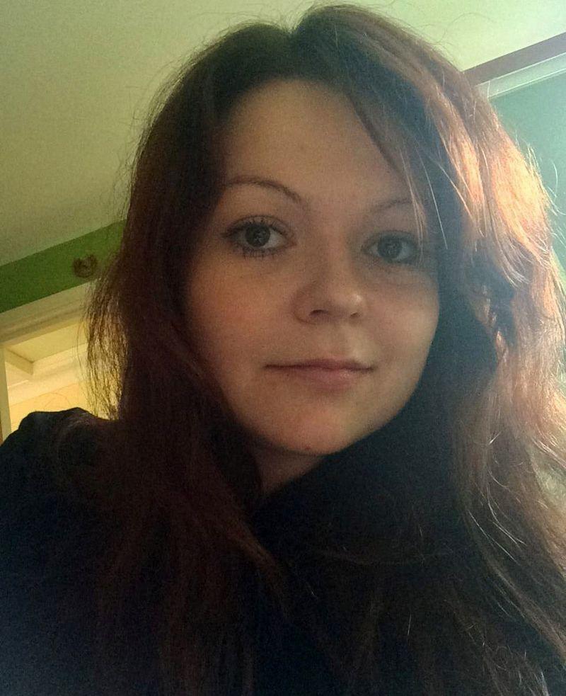 """Sergejaus Skripalio dukra Julija Skripal. (""""Reuters"""" / """"Scanpix"""") nuotr."""