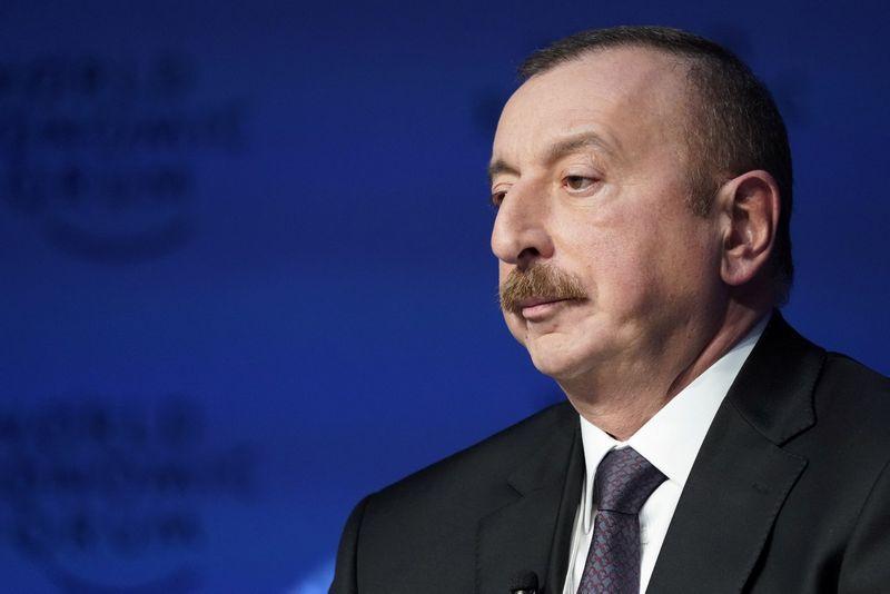 Ilhamas Alijevas, dabartinis Azerbaidžiano prezidentas. Deniso Balibouse (Reuters / Scanpix) nuotr.