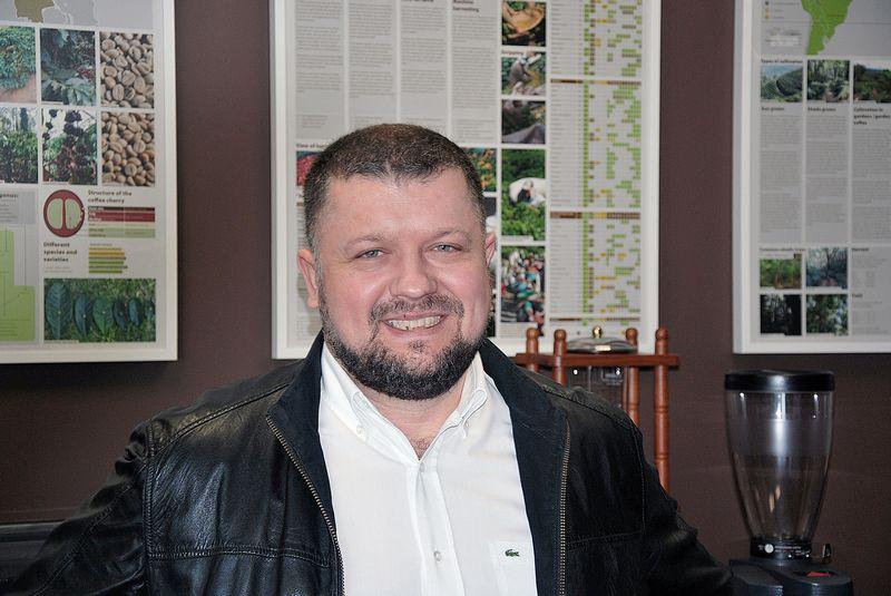 """Gražvydas Vilčinskas, UAB """"Kavos bankas"""" direktorius, planuoja naujas investicijas. Vytauto Gaižausko (VŽ) nuotr."""