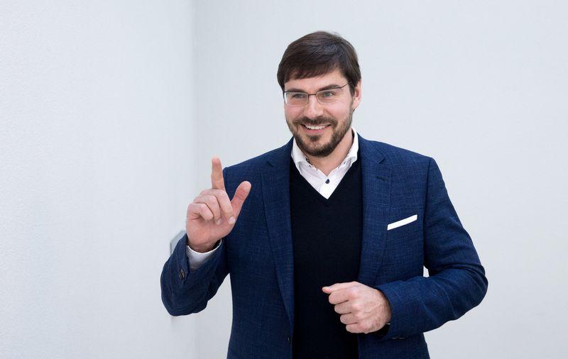 """Jonas Dovydaitis, lietuviško kapitalo statybų bendrovės """"Majoni"""", veikiančios Švedijoje, vadovas. Juditos Grigelytės (VŽ) nuotr."""