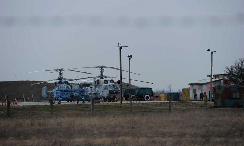 """""""Ka-27"""" sraigtasparnis.  Selahattino Sevi (""""Sipa""""/ """"Scanpix"""")  nuotr."""