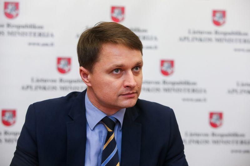 """Dalius Krinickas, aplinkos viceministras: """"Derybos nestringa, tačiau derėtis tai nereiškia tenkinti tik vienos pusės poreikius."""" Vladimiro Ivanovo (VŽ) nuotr.?"""