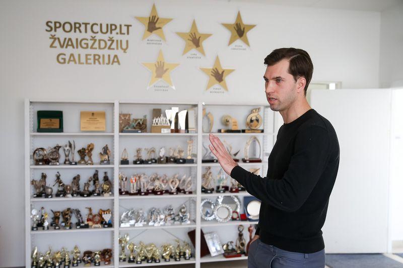 """Marius Babravičius, UAB """"SProjects"""", dirbančios su prekės ženklu """"Sportcup"""", direktorius ir bendraturtis. Vladimiro Ivanovo (VŽ) nuotr."""
