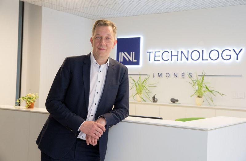 """Kazimieras Tonkūnas, investicijų į informacines ir ryšio technologijas bendrovės """"INVL Technology"""" direktorius. Juditos Grigelytės (VŽ) nuotr."""