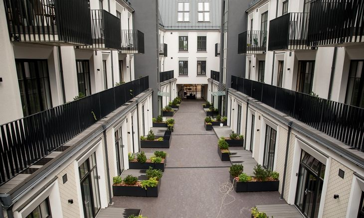Plečiamas NT mokestisgali pristabdyti būsto kainų augimą