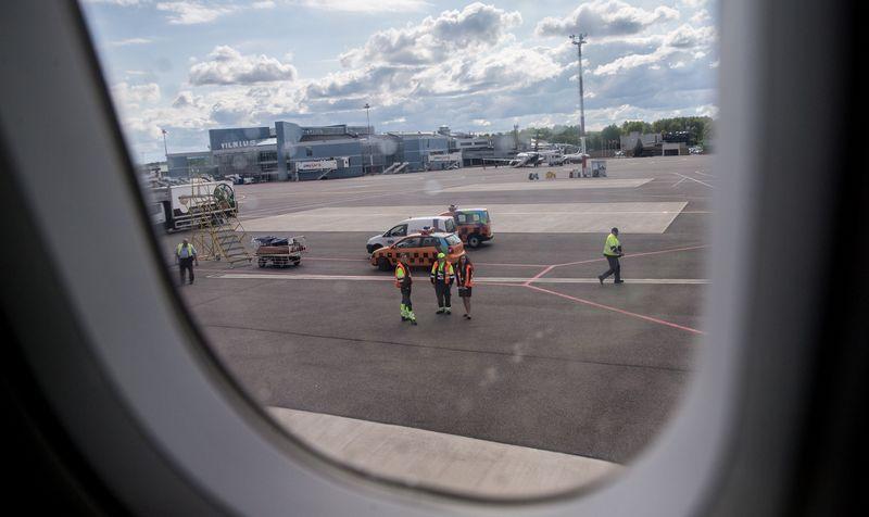 Oro linijos turės prisiimti visą atsakomybę dėl spontaniškai kylančių darbuotojų streikų. Juditos Grigelytės (VŽ) nuotr.