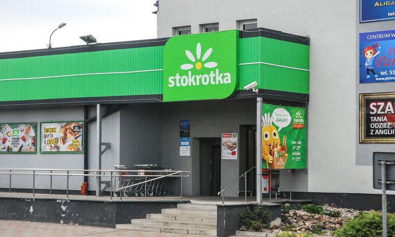 """""""Stokrotka"""" parduotuvė Lenkijoje. Juditos Grigelytės (VŽ) nuotr."""