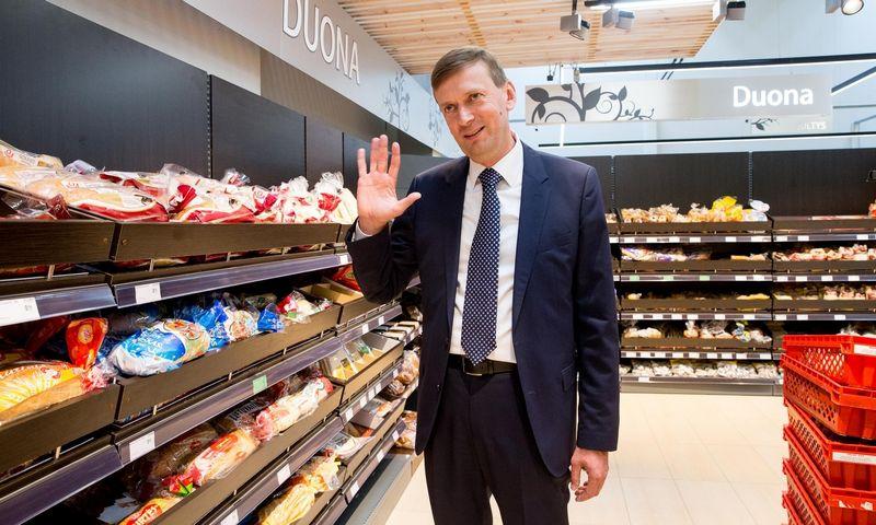"""Dainius Dundulis, UAB """"Norfos mažmena"""" valdybos pirmininkas: """"Kitiems rinkos dalyviams šis Konkurencijos tarybos sprendimas, nes sandoriui įvykus jų gyvenimas būtų kažkiek pasunkėjęs. Juditos Grigelytės (VŽ) nuotr."""