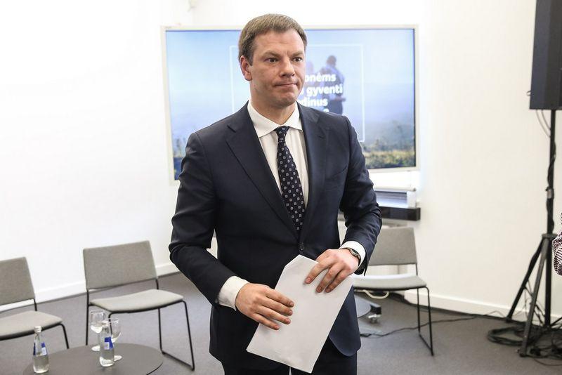 Vyriausybės rengiamų struktūrinių reformų pristatymas Lietuvos nacionalinėje Martyno Mažvydo bibliotekoje. Vladimiro Ivanovo (VŽ) nuotr.