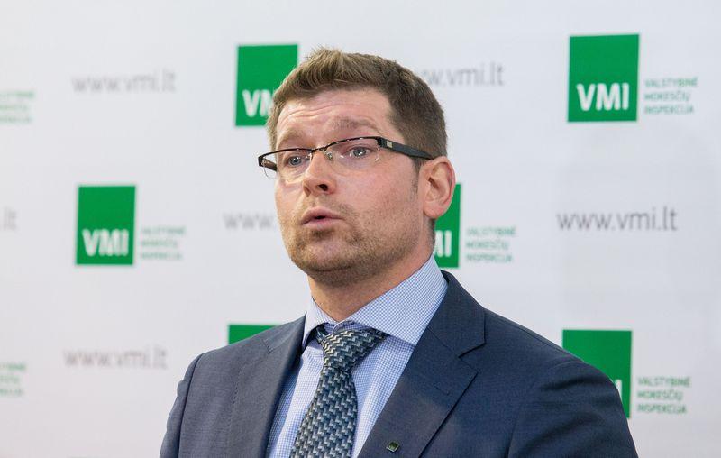 Kvitų loterijos projekto vadovas Rolandas Puncevičius. Juditos Grigelytės (VŽ) nuotr.