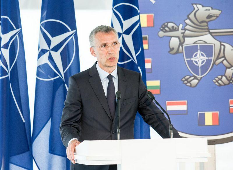 NATO generalinis sekretorius Jensas Stoltenbergas. Juditos Grigelytės (VŽ) nuotr.