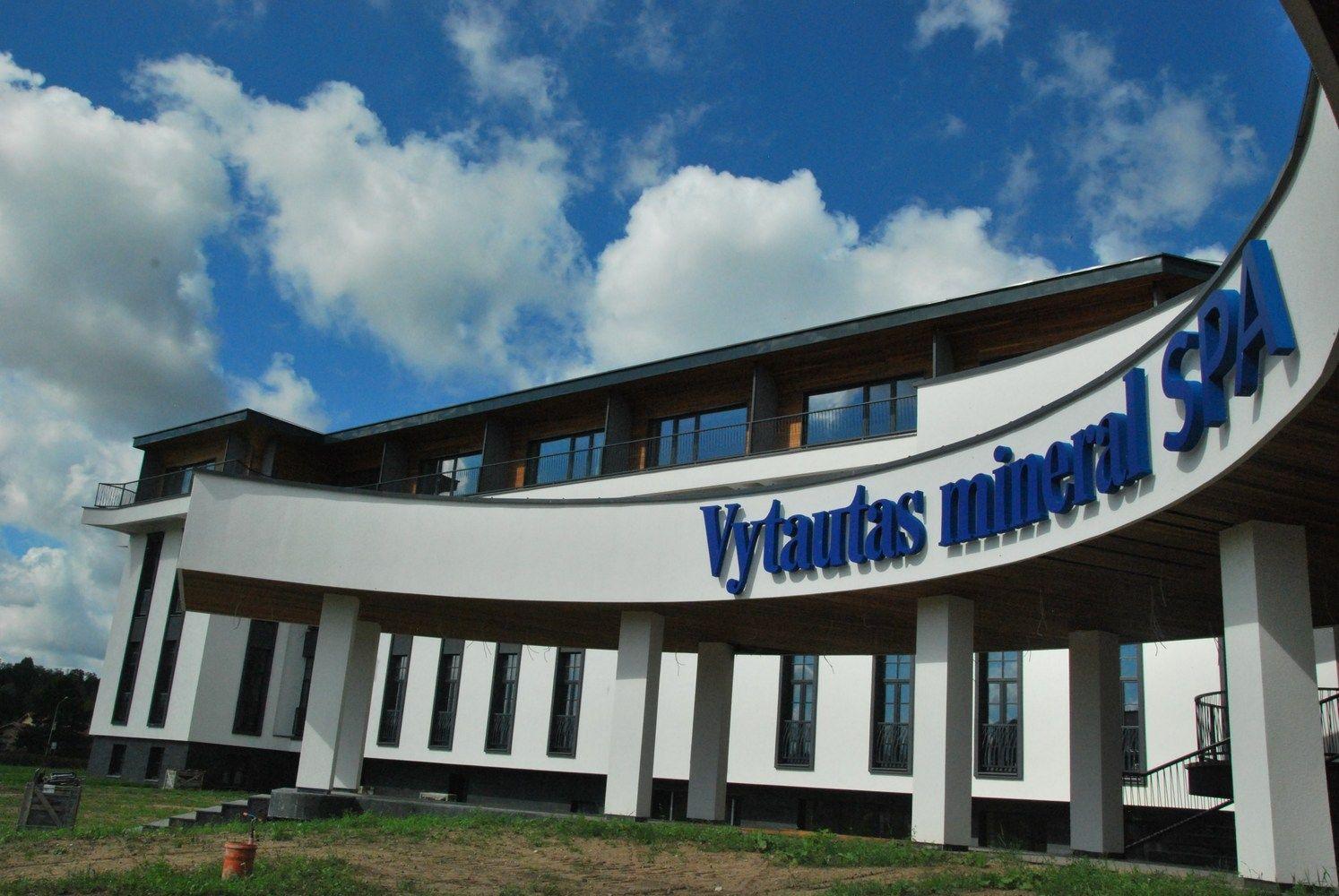 """Pirmieji """"Vytautas Mineral SPA"""" metai: nuo plano atsilikta labai nedaug"""