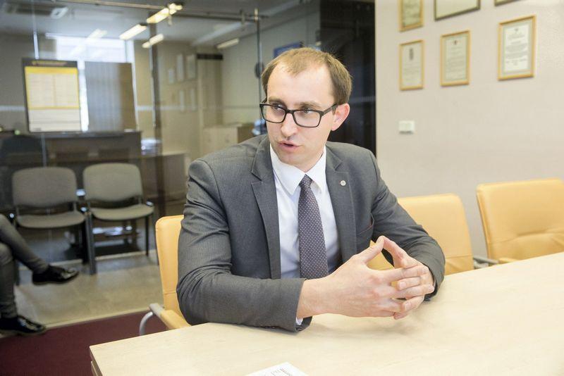 Valstybinės duomenų apsaugos inspekcijos direktorius Raimondas Andrijauskas. Juditos Grigelytės (VŽ) nuotr.