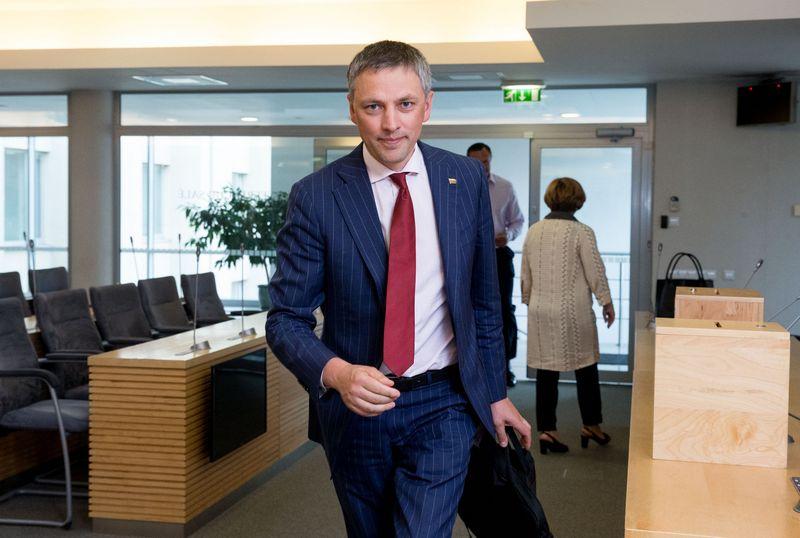 Seimo narys Vytautas Bakas. Juditos Grigelytės (VŽ) nuotr.