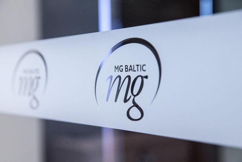 "Koncerno ""MG Baltic"" logotipas. Juditos Grigelytės (VŽ) nuotr."
