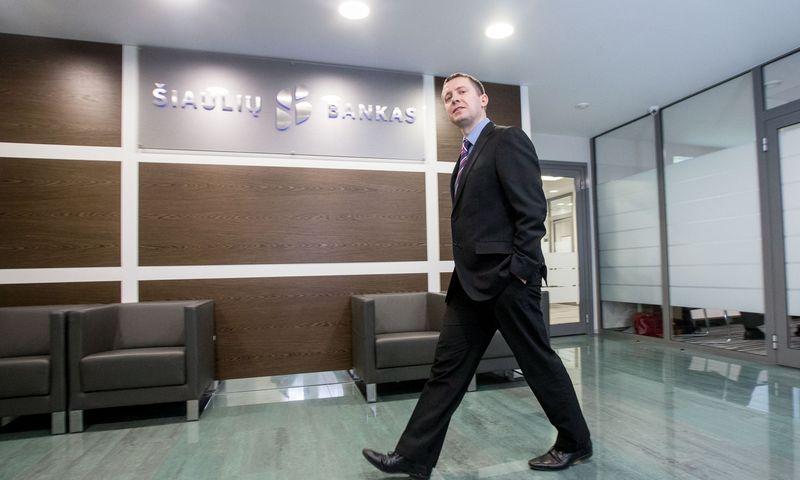 Domas Klimavičius, Šiaulių banko Rinkų ir iždo departamento Finansų maklerio skyriaus makleris. Juditos Grigelytės (VŽ) nuotr.