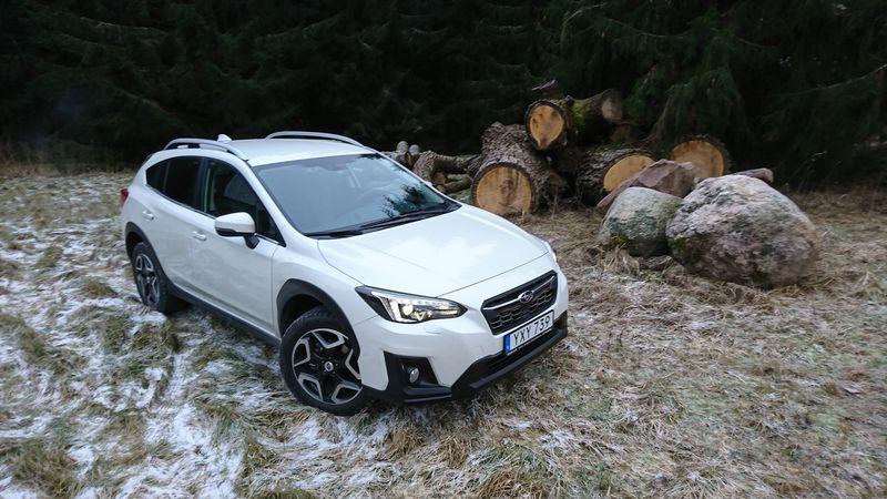 """Naujojo """"Subaru XV"""" žymiai pranoksta savo pirmtaką, bet ir toliau rinkoje atlieka nišinio modelio vaidmenį. Lino Butkaus (VŽ) nuotr."""