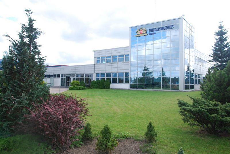 """UAB """"Philip Morris Lietuva"""" cigarečių gamybos padalinys Klaipėdoje.Mildos Ancevičės nuotr."""