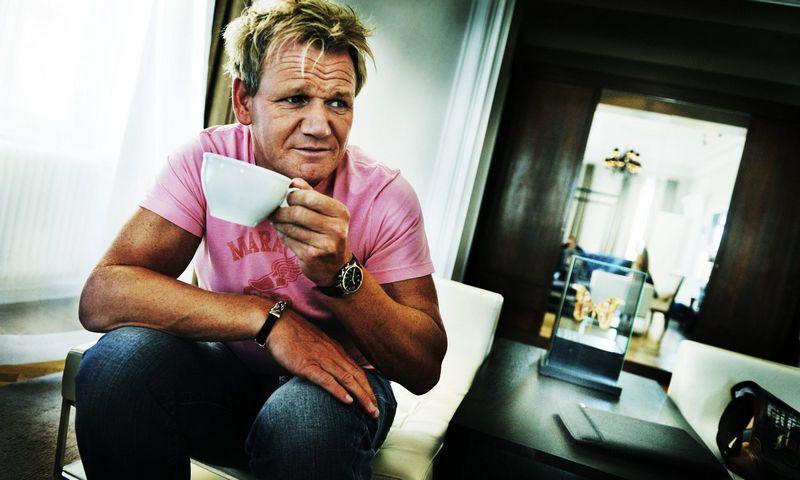 """Šefas Ramsay anksčiau ne kartą šaipėsi iš veganų. Magnus Hjalmarson Neideman (""""Scanpix"""")nuotr."""