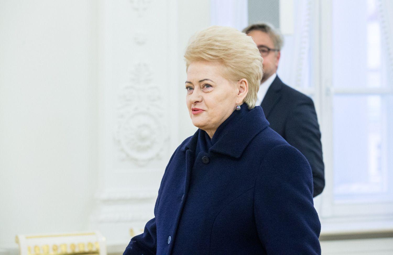 Tyrimas: populiariausi politikai išlieka prezidentė, Kauno meras ir premjeras