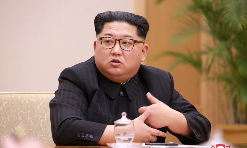 "Šiaurės Korėjos lyderis Kim Jong Unas. (""Reuters""/""Scanpix"") nuotr."