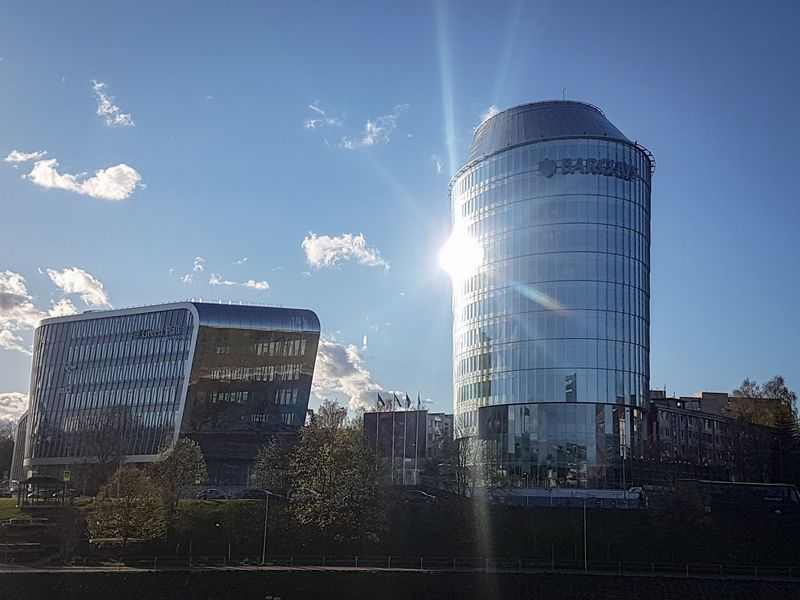"""Jungtinės Karalystės banko """"Barclays"""" biuras Vilniuje. Naglio Navako (VŽ) nuotr."""