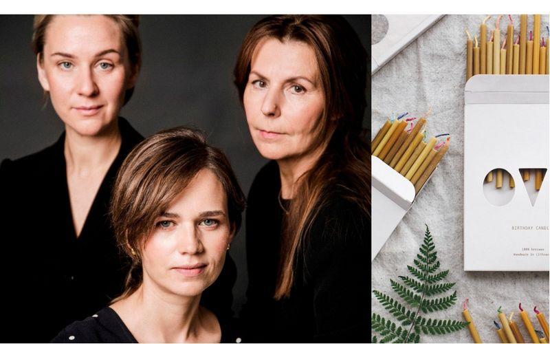 """""""OVO Things"""" kūrėjos: Guoda Giedraitė, Vida Simanavičiūtė ir Justė Marcelionienė. Dovilės Dagienės nuotr."""