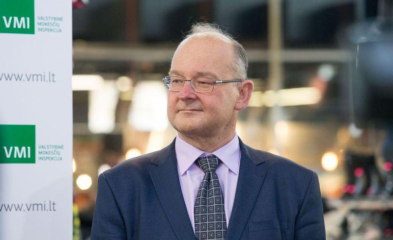 Startuoja fiskalinių čekių loterija. VMI viršininko pavaduotojas Artūras Klerauskas. Juditos Grigelytės (VŽ) nuotr.