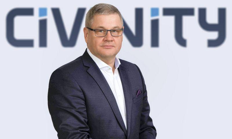 """Rimvydas Ramanauskas, naujas Civinity"""" įmonių grupės vadovas. Asmeninio archyvo nuotr."""
