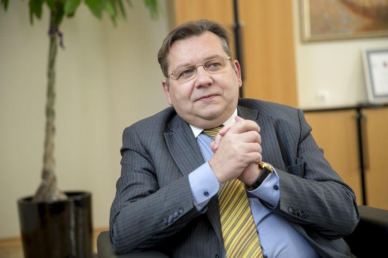 """Kęstutis Šerpytis, ne gyvybės draudimo AB """"Lietuvos draudimas"""" generalinis direktorius. Vladimiro Ivanovo (VŽ) nuotr."""
