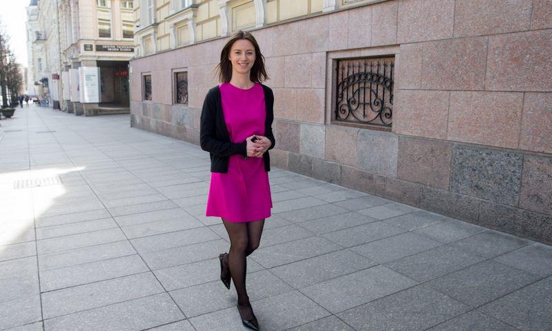 Jekaterina Govina, Lietuvos banko Valdybos nario patarėja. Juditos Grigelytės (VŽ) nuotr.
