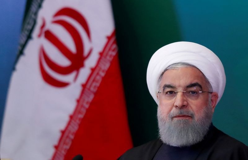"Irano prezidentas Hassanas Rouhani. Danisho Siddiqui (""Reuters"" / ""Scanpix"") nuotr."