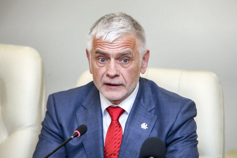 Bronius Markauskas, žemės ūkio ministras. Vladimiro Ivanovo ( VŽ) nuotr.