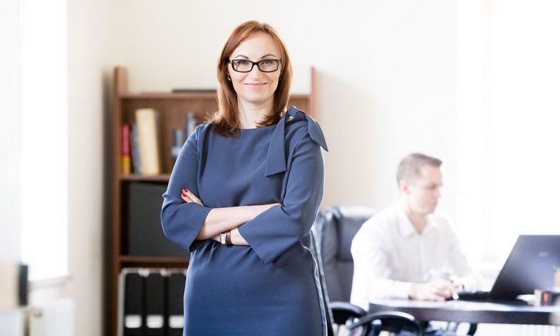 """Neringa Petrauskaitė, profesinių paslaugų rinkodaros agentūros """"We Are Marketing"""" partnerė. Juditos Grigelytės (VŽ) nuotr."""