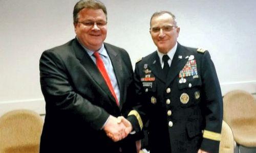 Linkevičius: būtina spartinti darbus, kad NATO galėtų tinkamai reaguoti į grėsmes