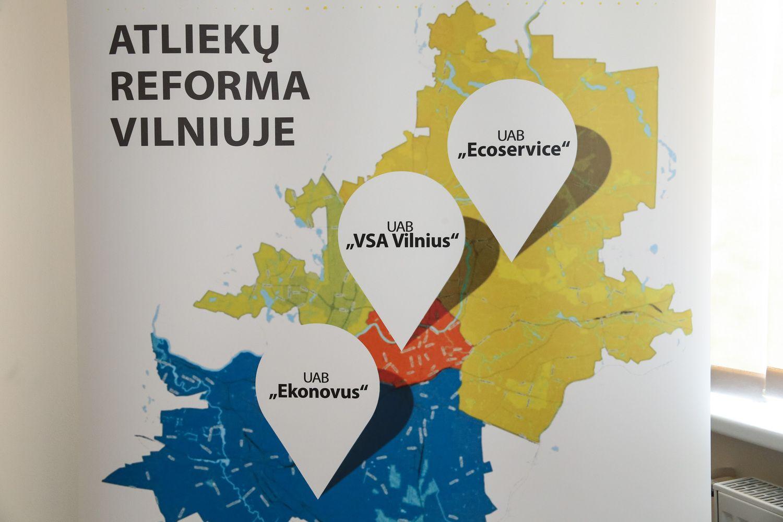 Vilniuje – dvinarė rinkliava už atliekas, nelieka konkurencijos tarp vežėjų