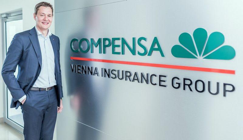 """Tomas Milašius, """"Compensa Life Vienna Insurance Group SE"""" Lietuvos filialo vadovas: """"Pagrindinės bendrovės augimo priežastys – produktų išskirtinumas, profesionalių pardavėjų komanda ir didėjantis gyventojų finansinis sąmoningumas."""""""