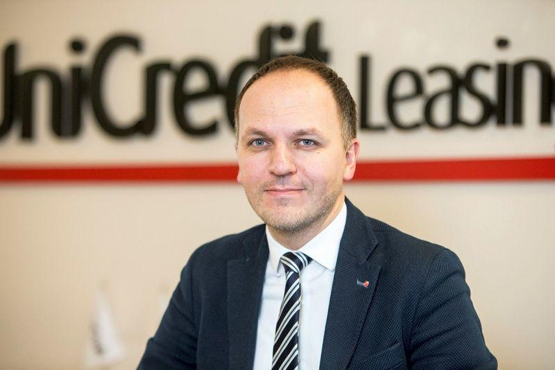 """Laimonas Belickas, finansavimo paslaugų bendrovės """"UniCredit Leasing"""" Lietuvoje generalinis direktorius: """"Mes į santykį su klientu žiūrime kaip į partnerystę– mums svarbi jo sėkmė ir mes norime prie jos prisidėti."""""""