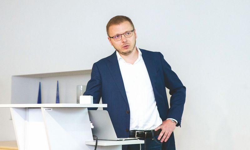 """Jurijus Laneckis, platformos """"Valandinis"""" įkūrėjas. Juditos Grigelytės (VŽ) nuotr."""