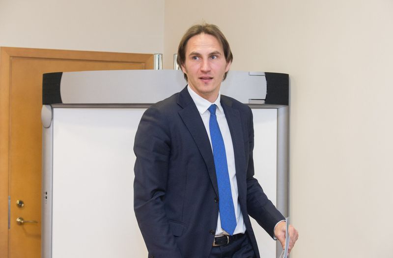 Marius Jurgilas, Lietuvos banko valdybos narys. Juditos Grigelytės (VŽ) nuotr.