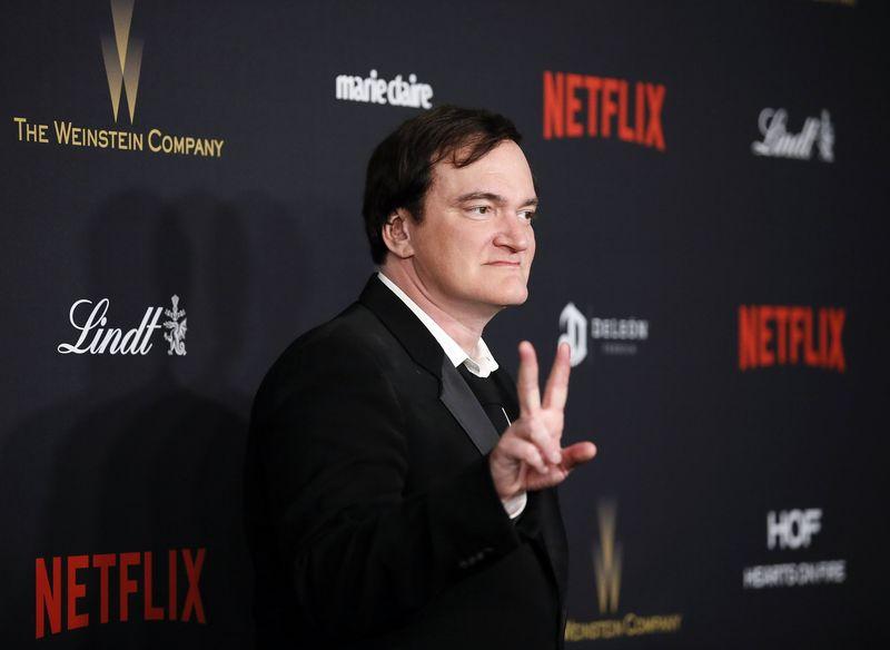 "Quentinas Tarantino. Danny Moloshoko (""Reuters"" / ""Scanpix"") nuotr."