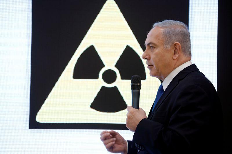 "Benyaminas Netanyahu. Amiro Coheno (""Reuters"" / ""Scanpix"") nuotr."